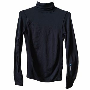 Climawear active wear long sleeve turtleneck top